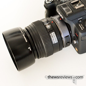 Olympus Four Thirds 50/2 Macro lens on Panasonic GH1